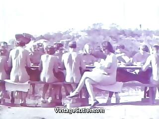 Vintage Nudists Naturists